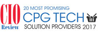 20 Most Promising CPG Tech Solution Providers - 2017