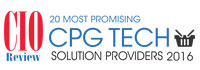 Top 20 CPG Tech Solution Companies - 2016